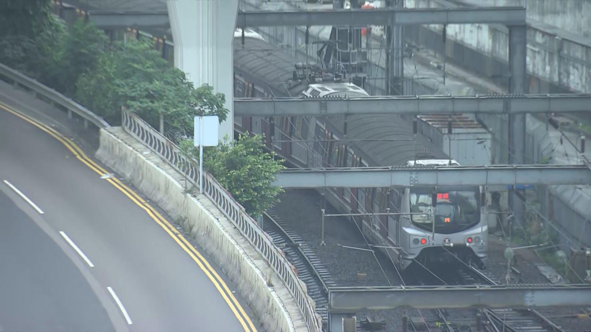 港鐵東鐵綫紅磡站可開放一個月台服務