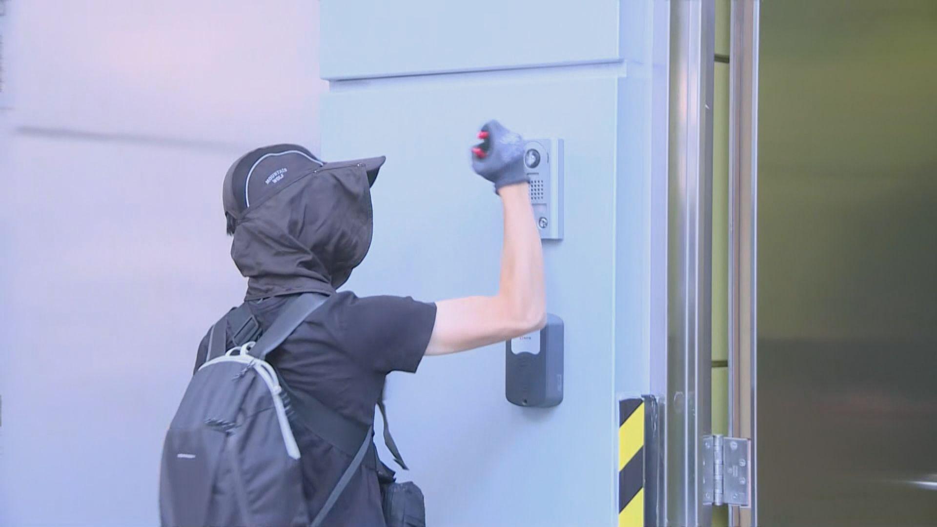 港鐵指南昌站有人非法闖入列車駕駛室