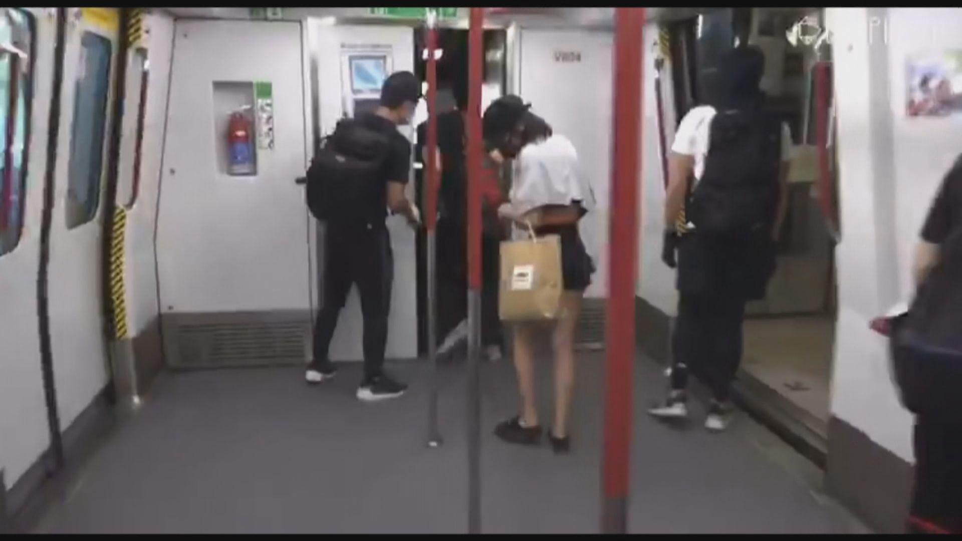 港鐵指南昌站有人闖入列車駕駛室 一度封站
