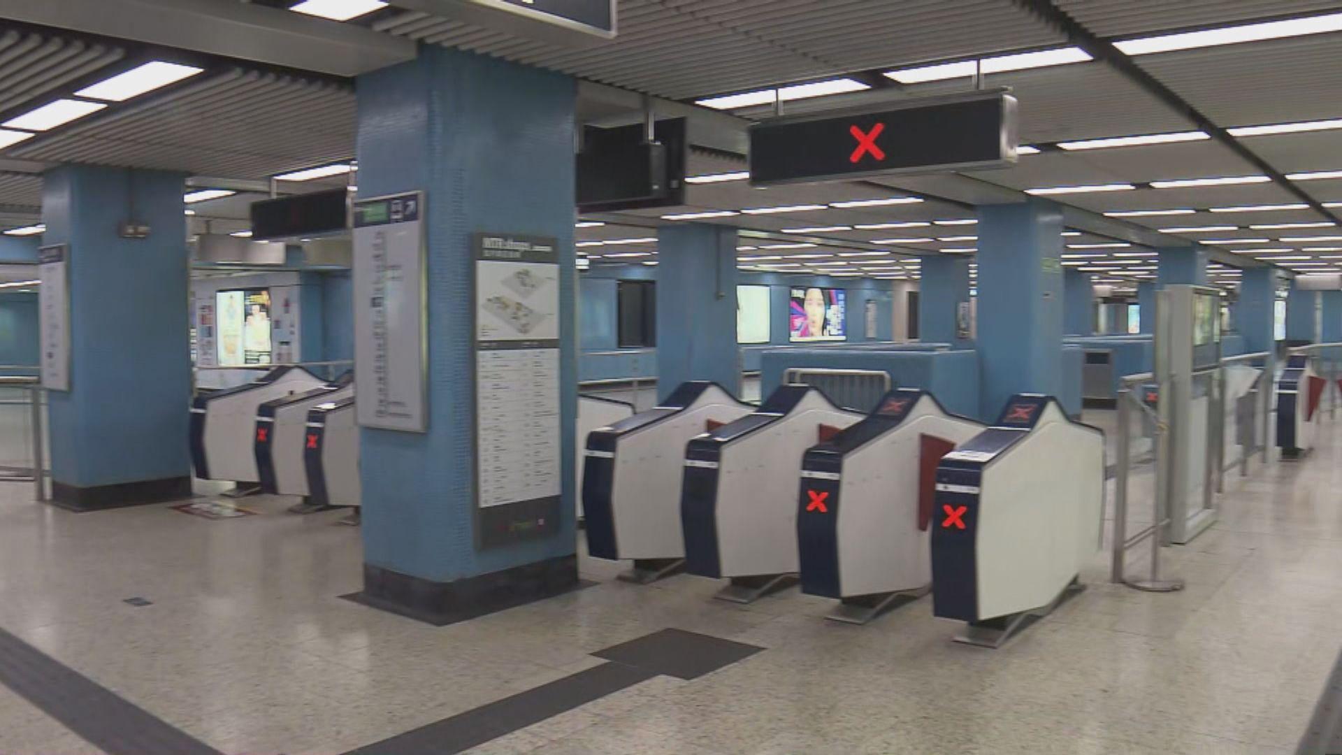 港鐵除機場快綫外各綫提早晚上十時收車