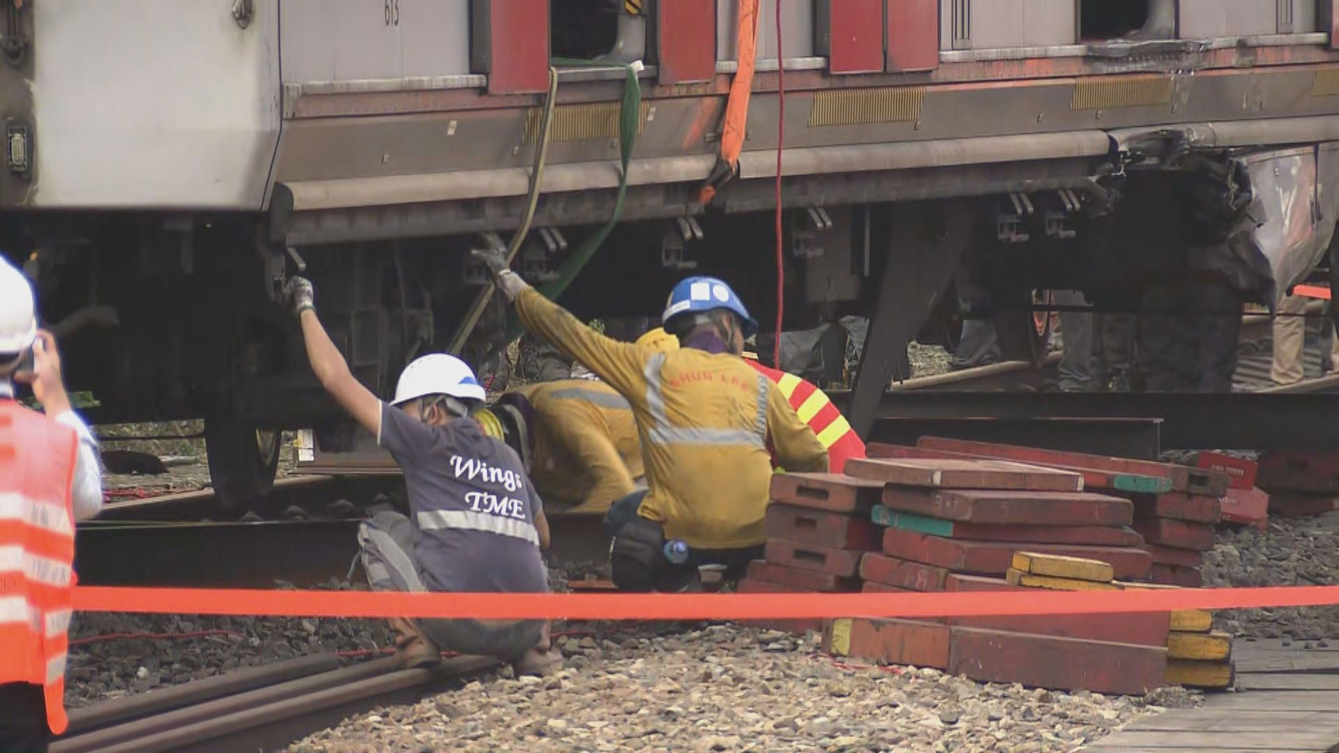港鐵稱路軌裂痕未知是否與出軌有關