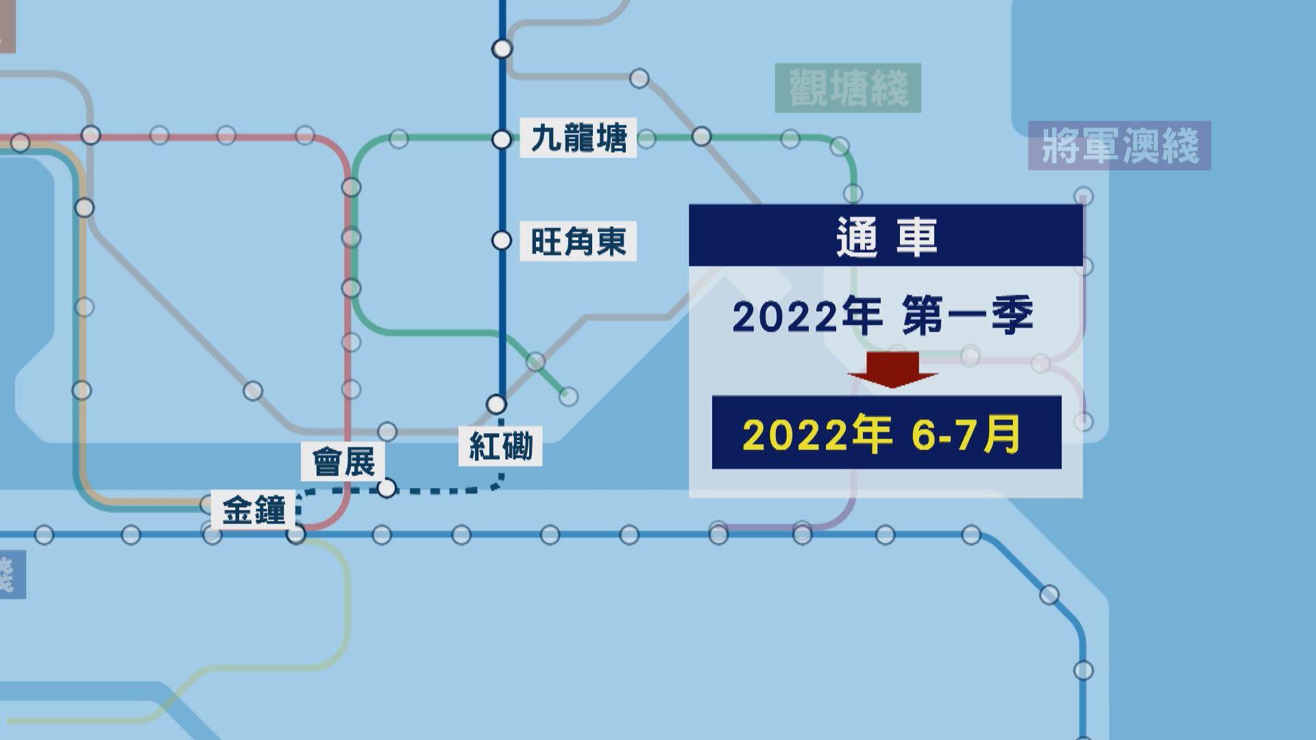 東鐵綫過海段押後至明年六至七月通車