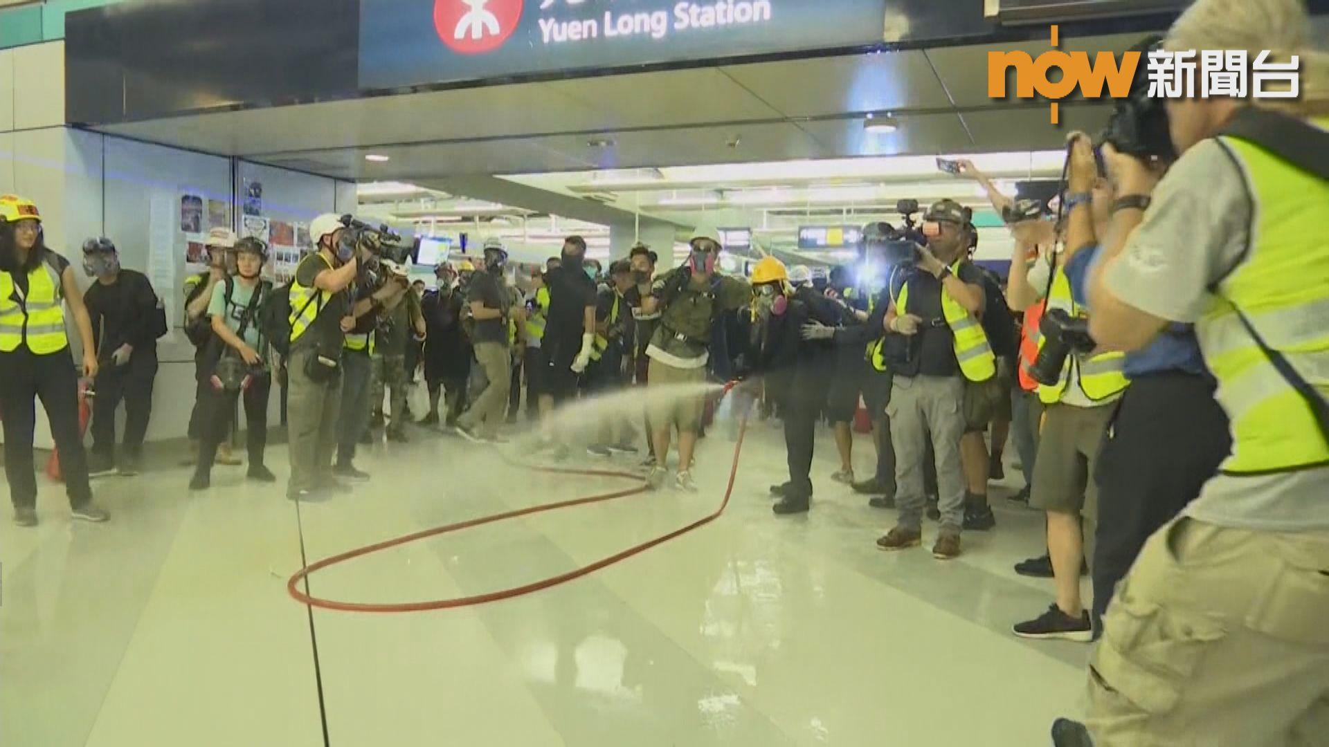 人民日報批評港鐵縱容暴力