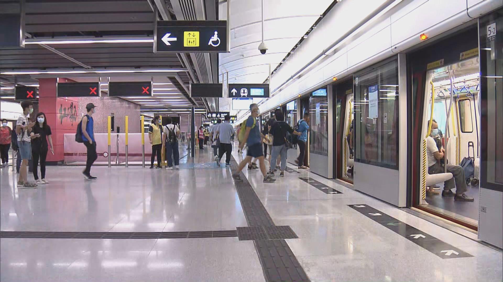港鐵西鐵綫紅磡站新月台啟用 有乘客認為指示不夠清晰