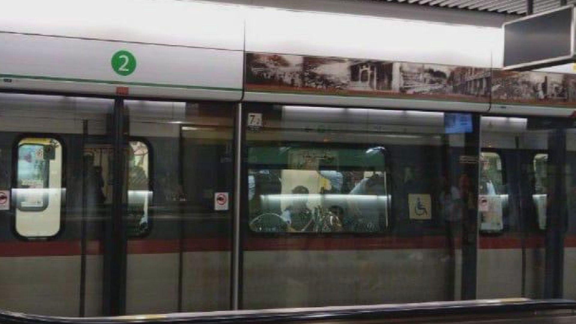 港鐵:路況不許可故派列車接載警員到九龍灣