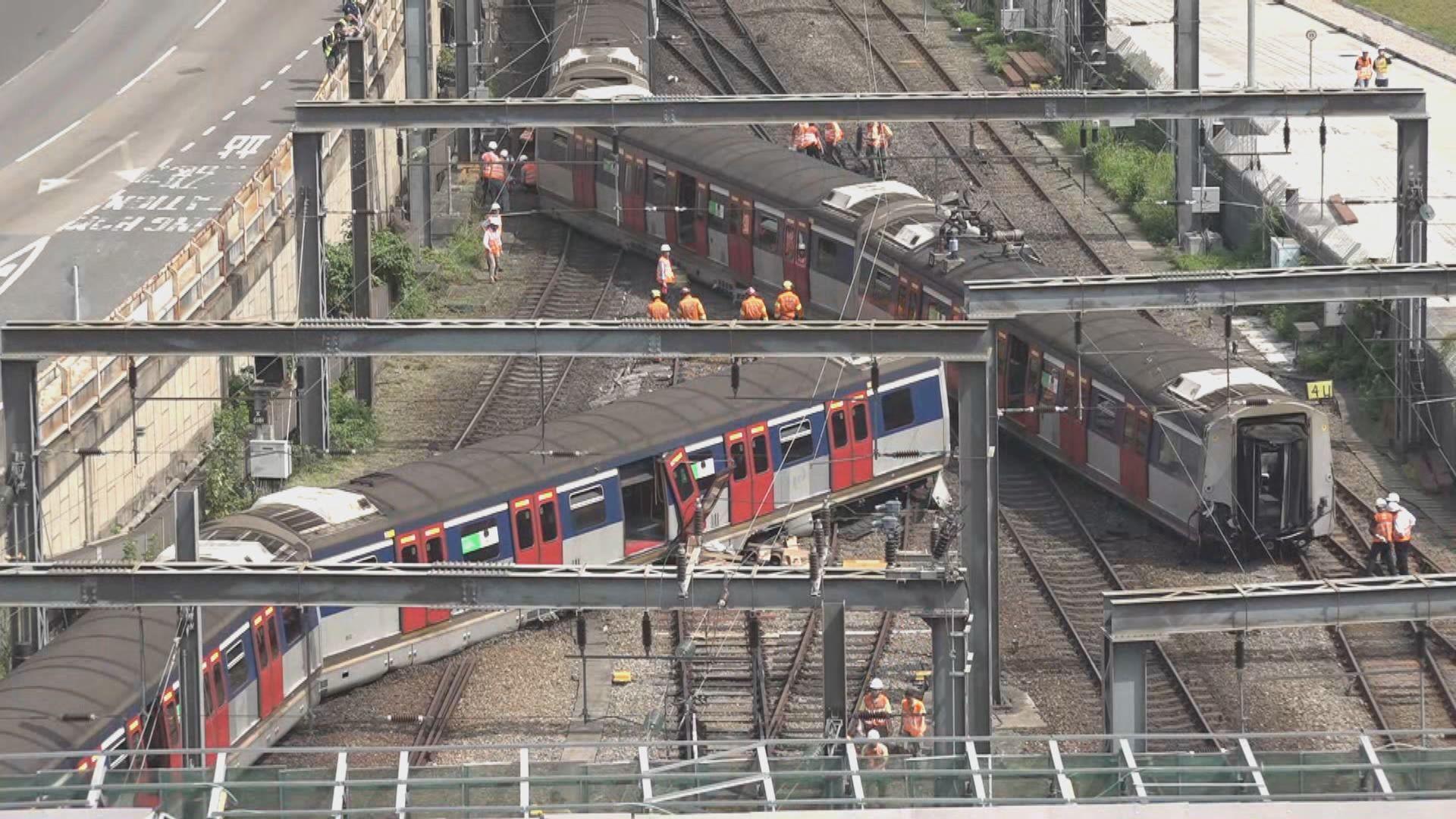 【紅磡出軌】目擊者︰當時列車急煞停