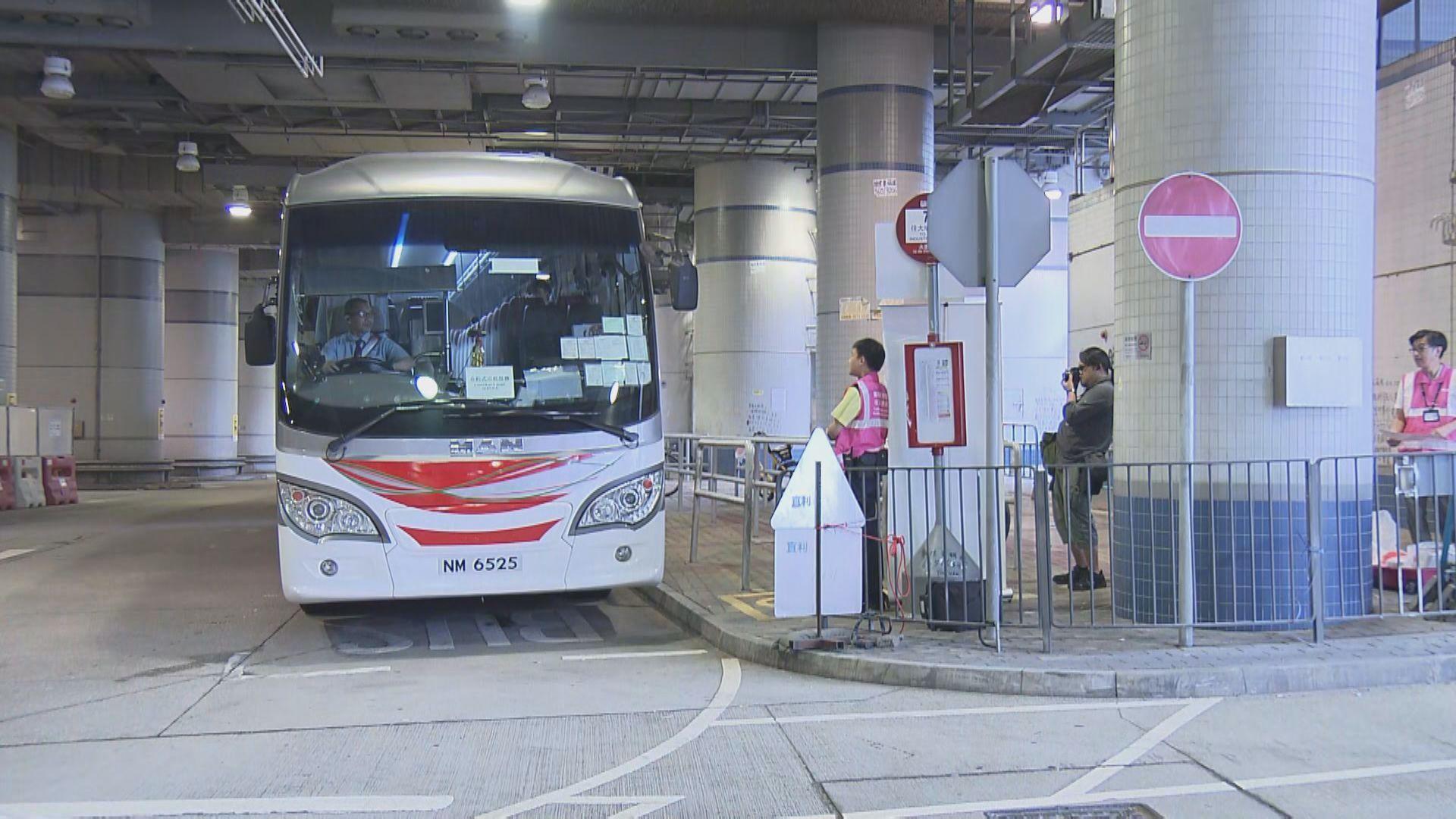 港鐵安排免費接駁巴士來回大圍及鑽石山站