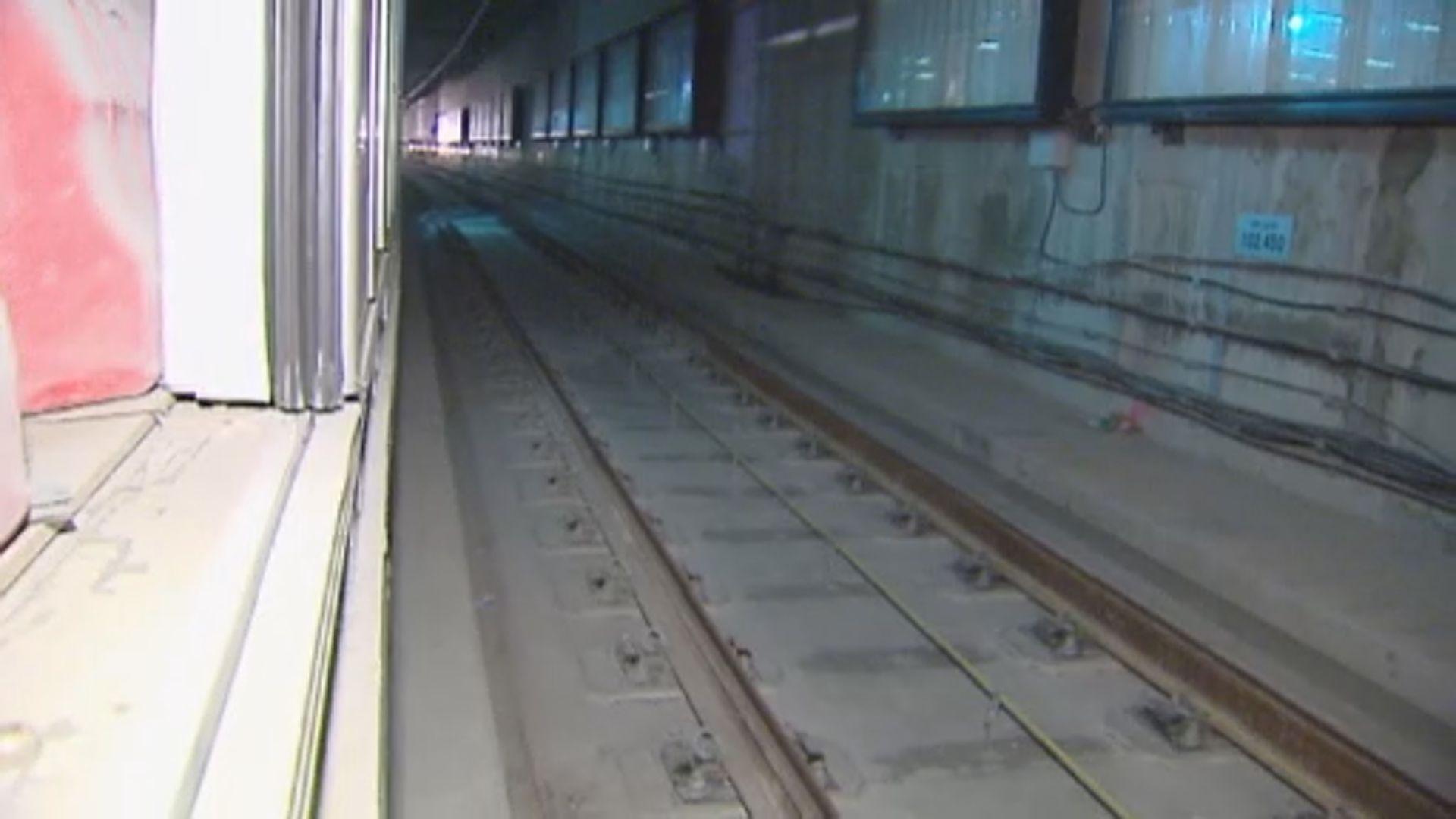 紅磡站第二階段檢測結果兩成鋼筋不合格