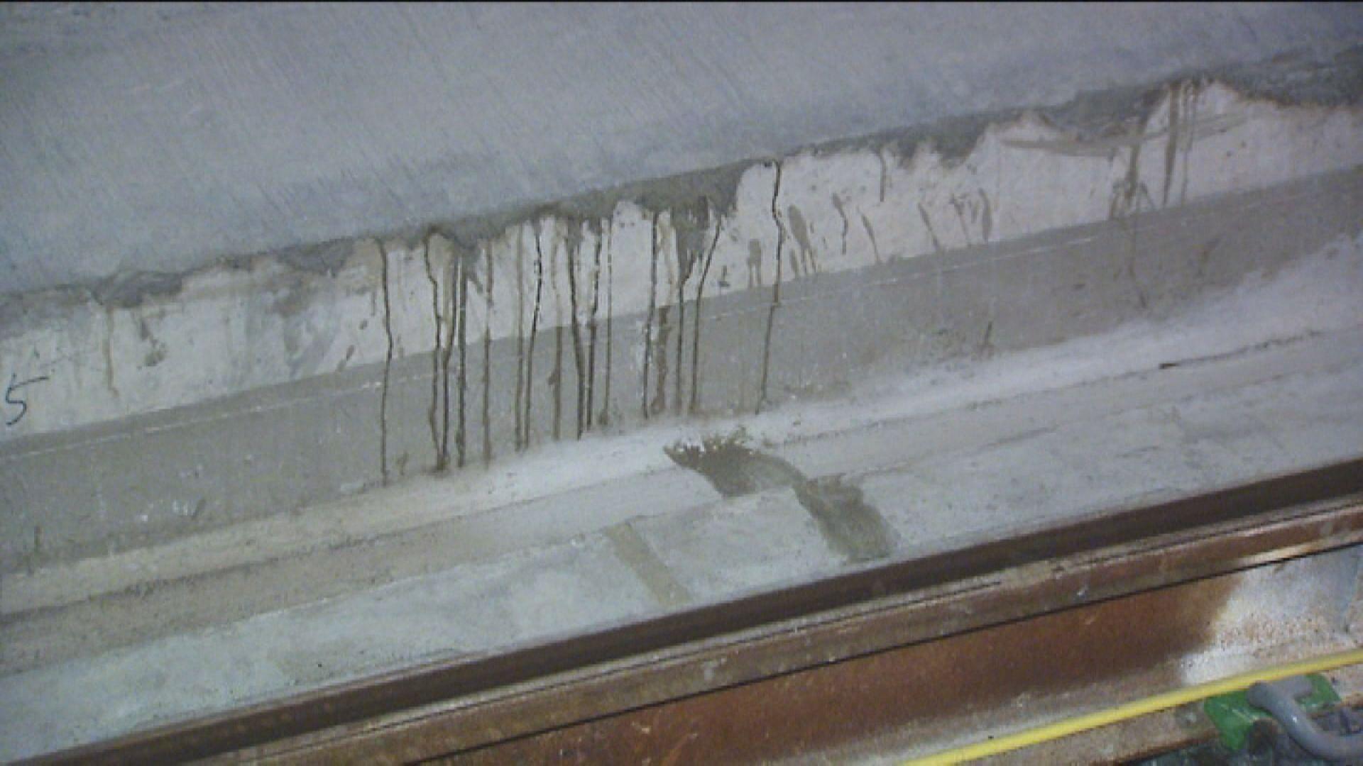 港鐵承認紅磡站擴建部分連續牆出現滲水要修補