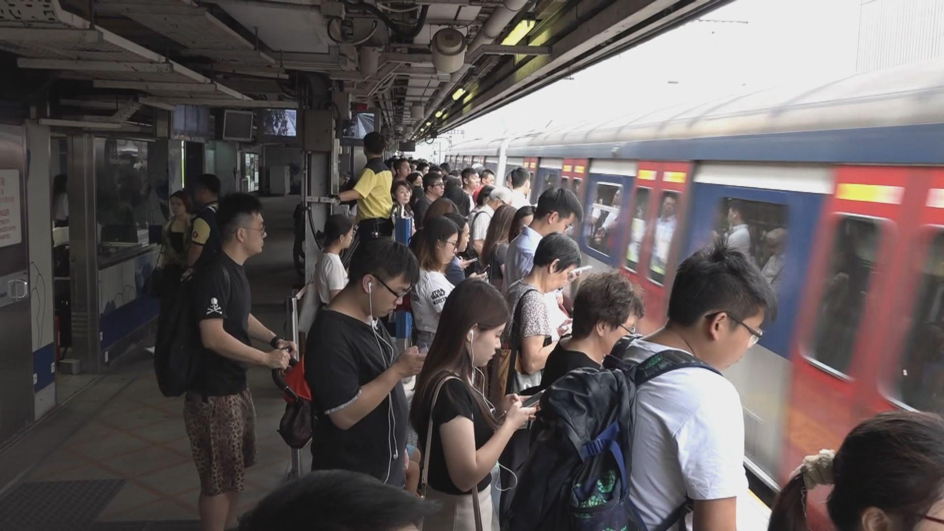 東鐵綫新信號系統測試期間再發現問題