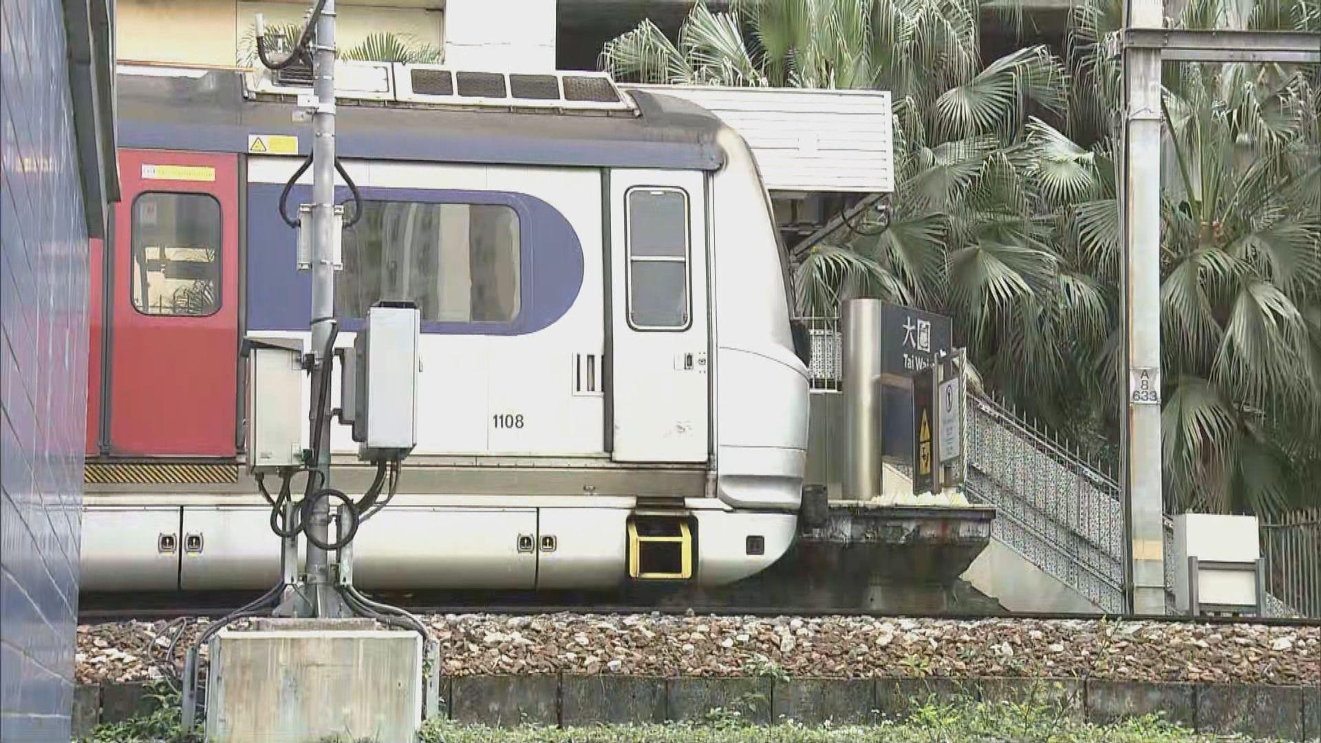 東鐵路軌發現懷疑爆炸品 九龍塘至大圍服務暫停