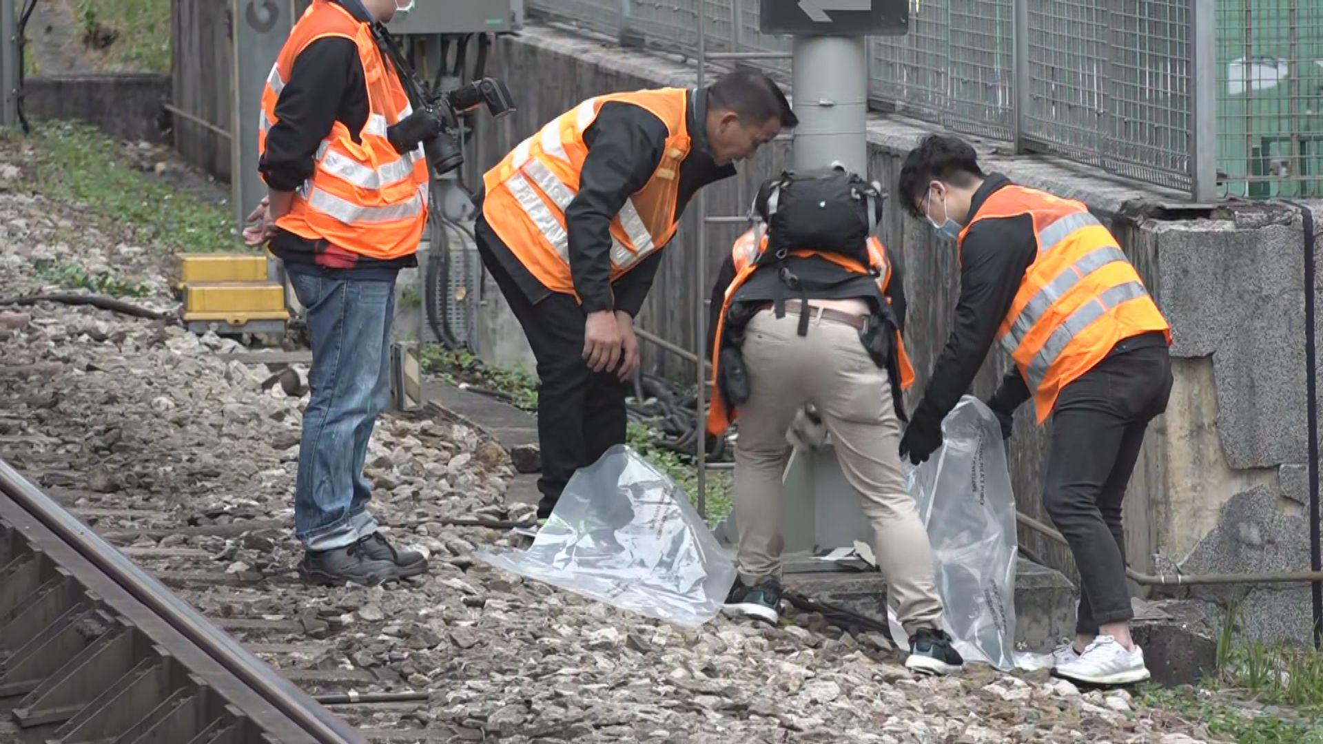 大埔墟站發現可疑物品 東鐵綫一度受阻兩個半小時