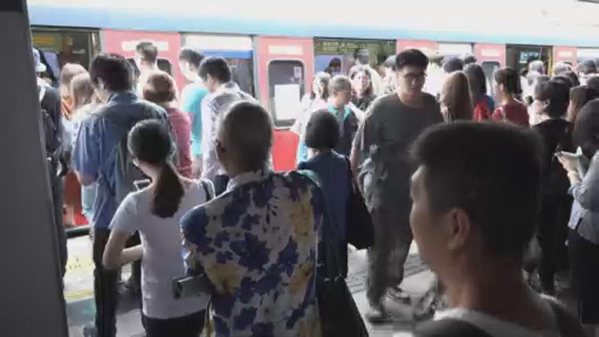 東鐵綫火炭至大埔墟站服務暫停