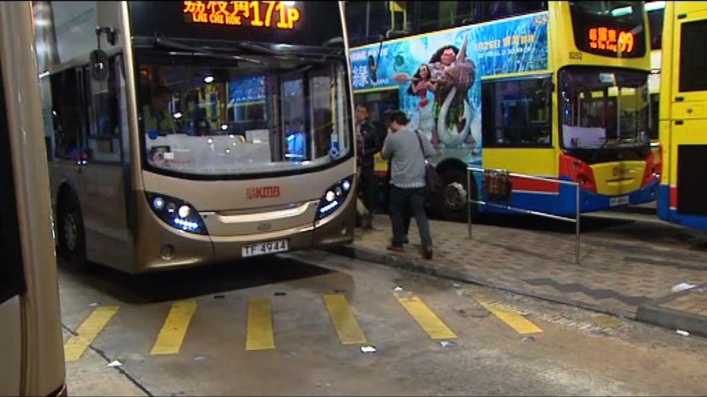 南港島綫通車 巴士乘客明顯減少