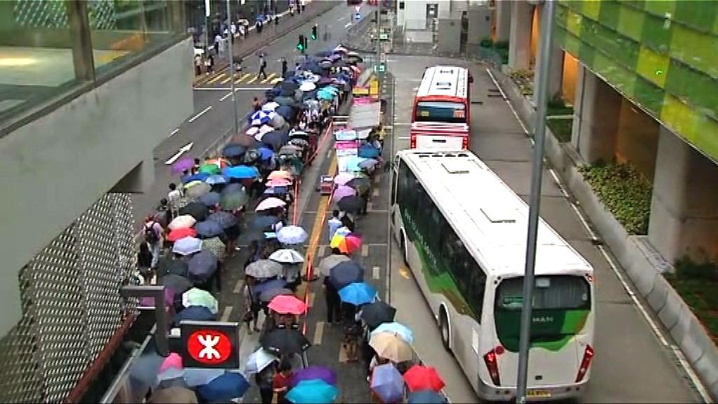 列車故障 港鐵南港島綫服務一度受阻