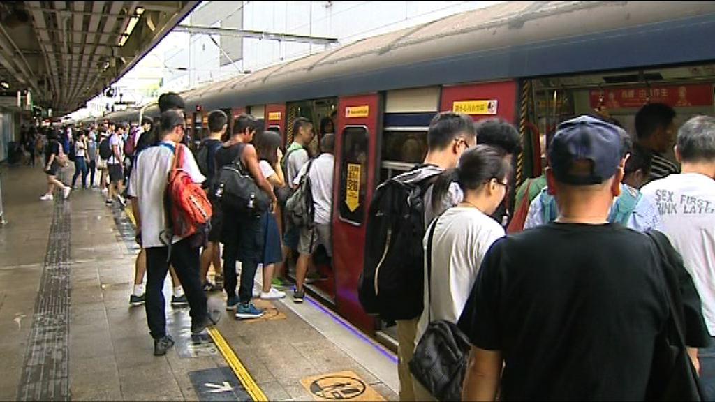 港鐵東鐵綫服務一度延誤