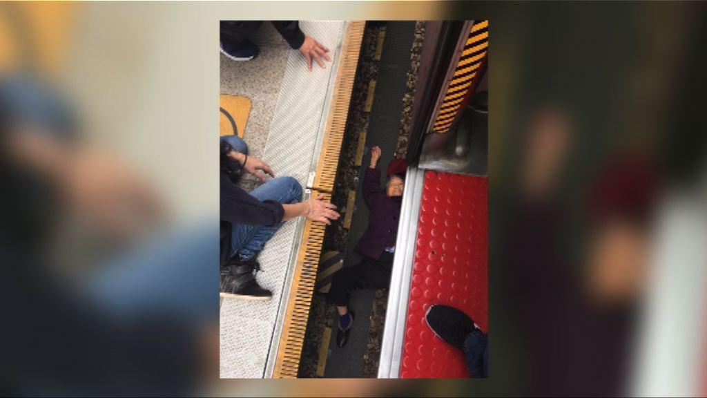 老婦誤墮路軌 港鐵:有措施保障乘客安全