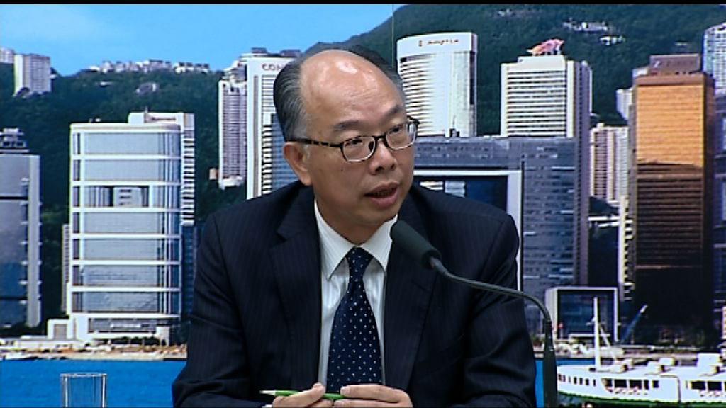 陳帆:政府得悉事件後全力跟進並揭發問題嚴重