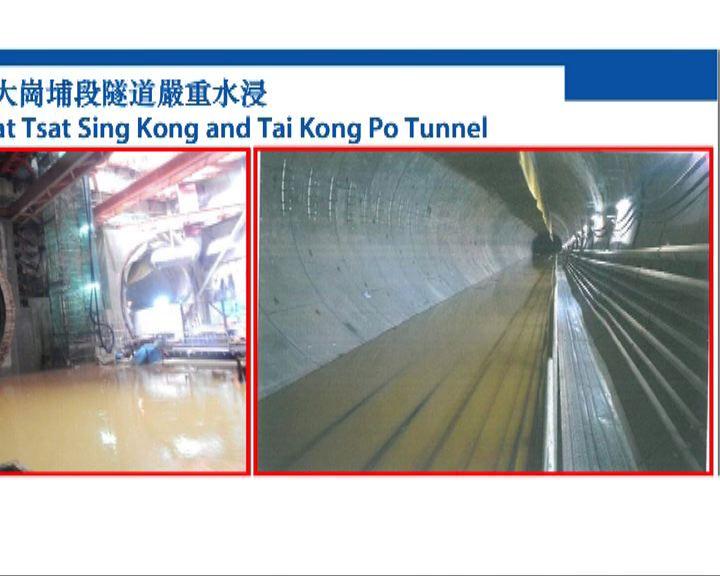 高鐵香港段工程延誤一年