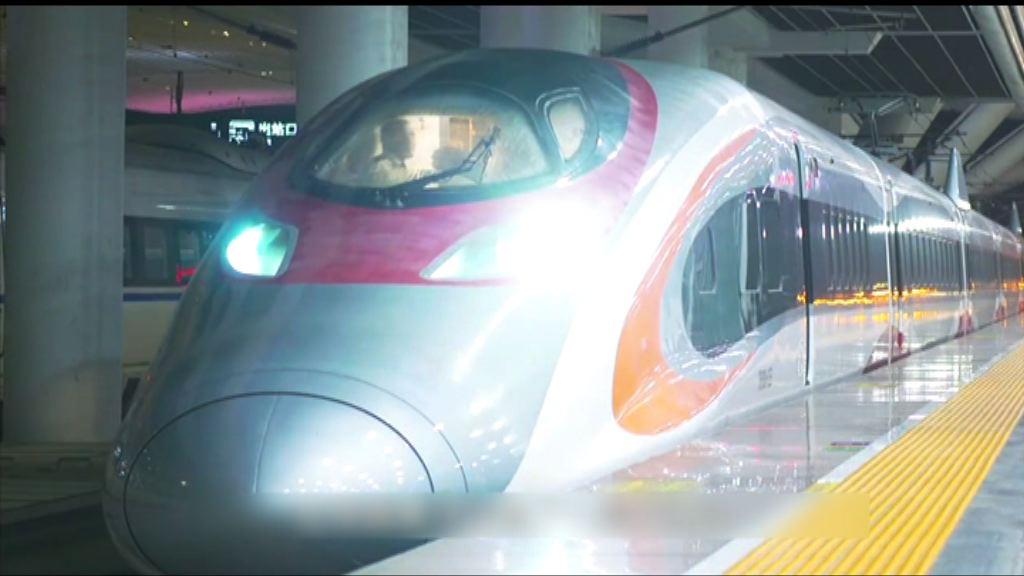 港鐵短片簡介高鐵列車抵港過程