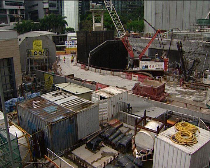 路政署早已發現港鐵南港島綫工程滯後