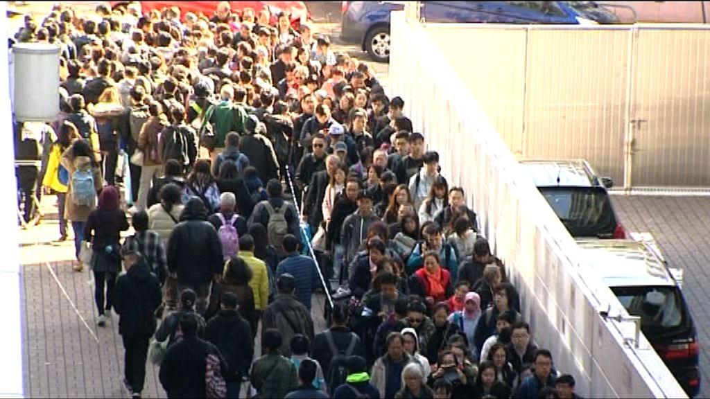 東鐵綫故障 暫停服務逾一小時仍未恢復