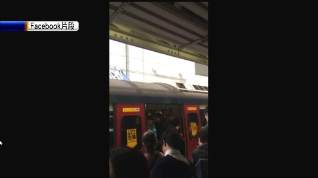 東鐵綫故障服務一度全線暫停
