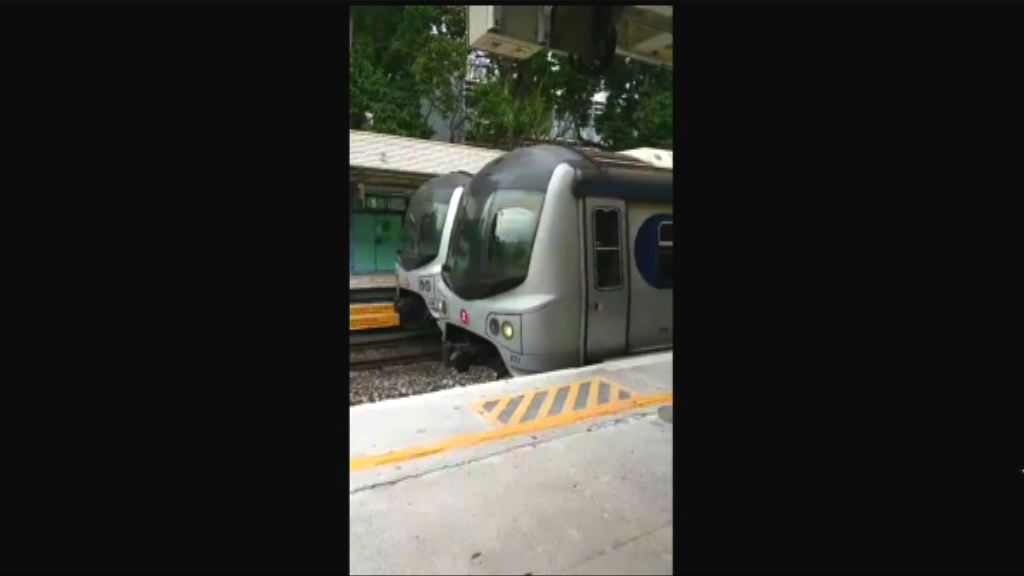 港鐵東鐵綫故障 列車服務中午前回復正常
