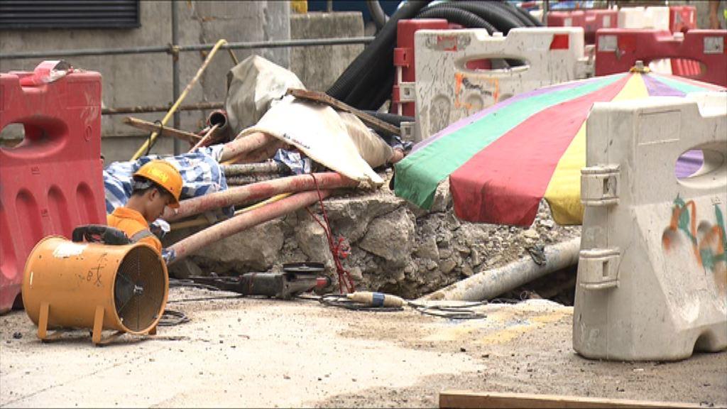 煤氣公司證實土瓜灣四條煤氣喉管曾超沉降標準