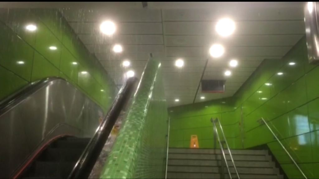 運房局:海怡半島站水浸因車站獨特設計