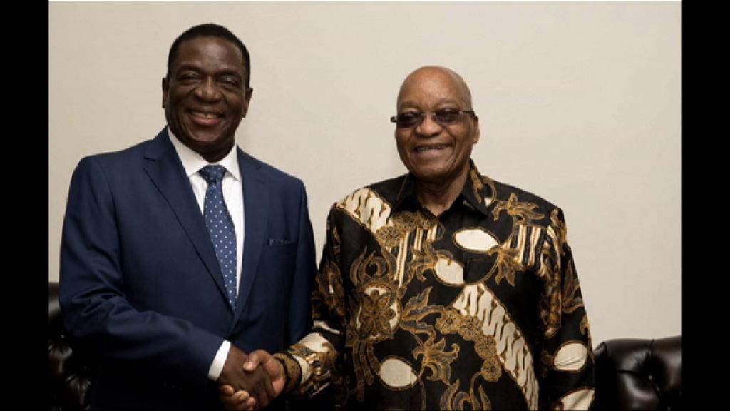 姆南加古瓦周五宣誓任津巴布韋總統