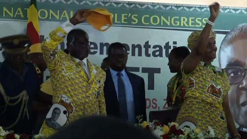 津巴布韋執政黨提出彈劾總統穆加貝動議