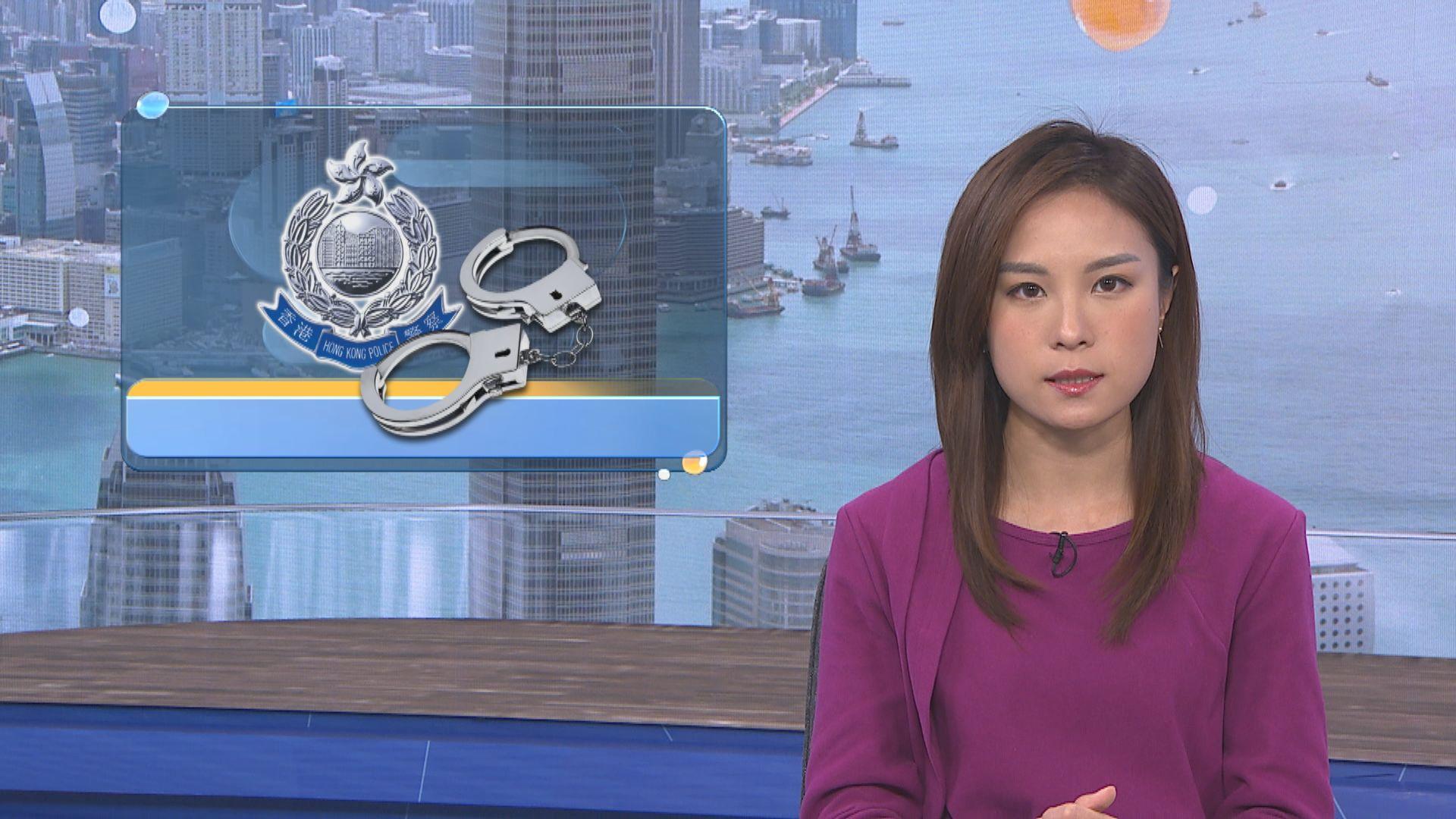 南亞漢涉元朗盜竊及謀殺案被捕