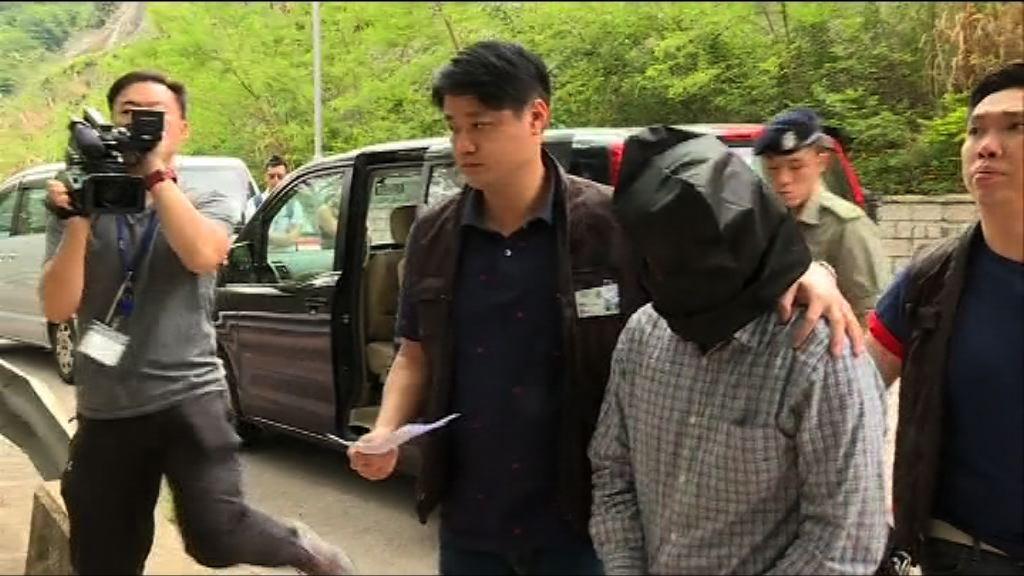 五桂山謀殺案  一疑犯被押返現場重組案情