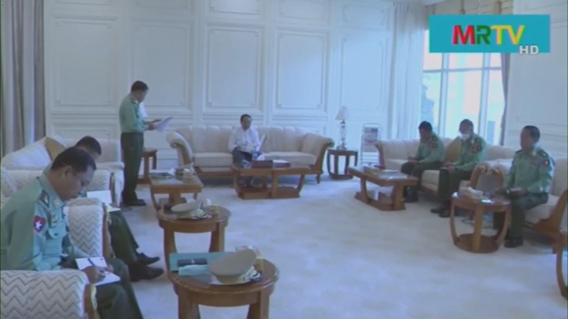 緬甸發生軍事政變後 軍方宣布大規模改組政府