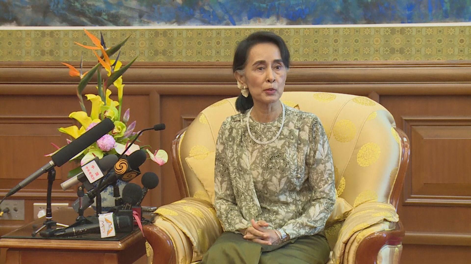 昂山素姬及溫敏被起訴扣押至本月中 緬甸禁國民用FB
