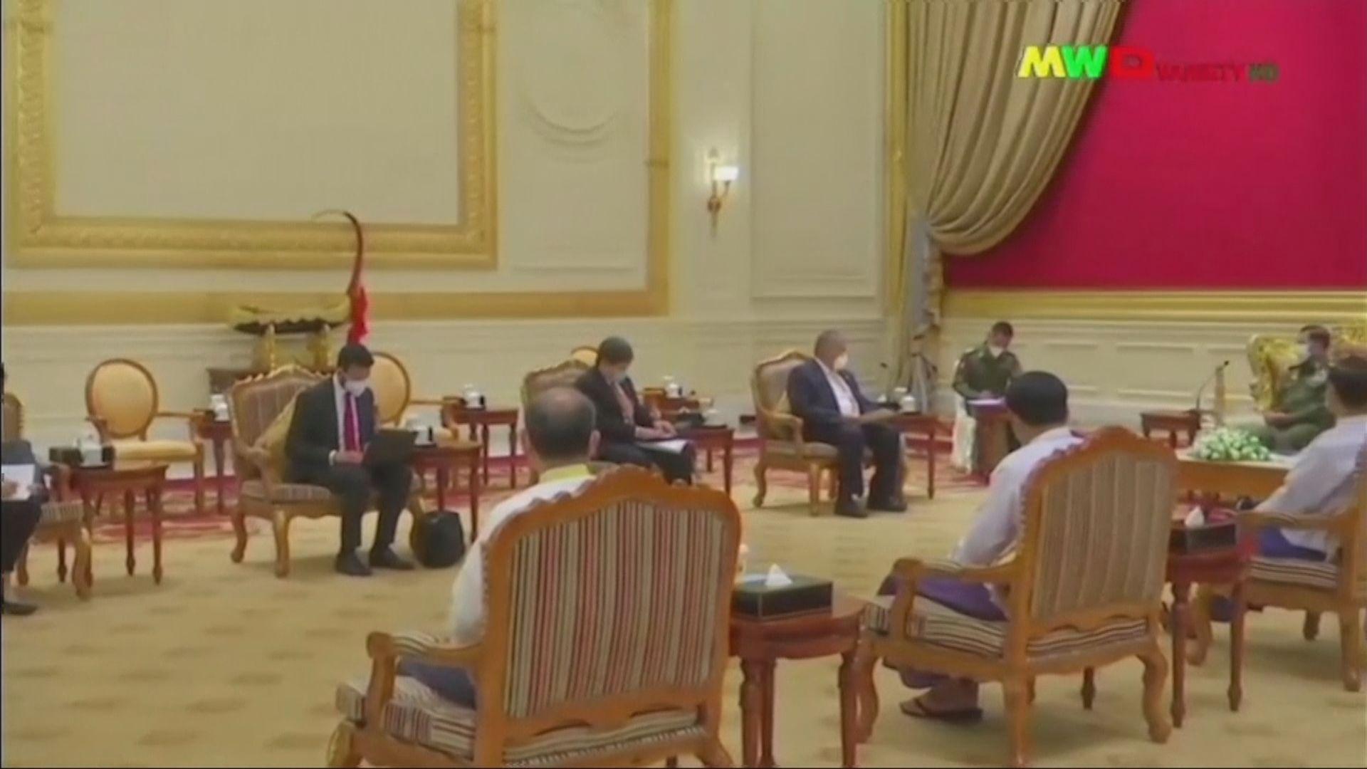 緬甸軍政府批評有外部勢力干預東盟