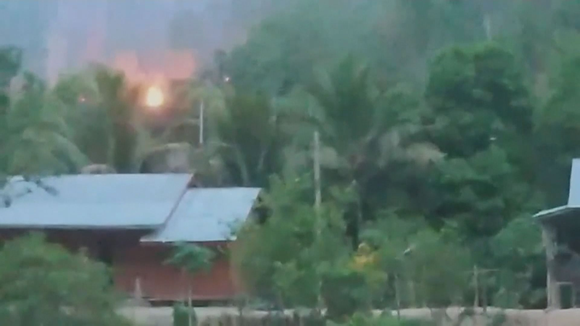 緬軍一個前哨基地被克倫族武裝組織攻擊