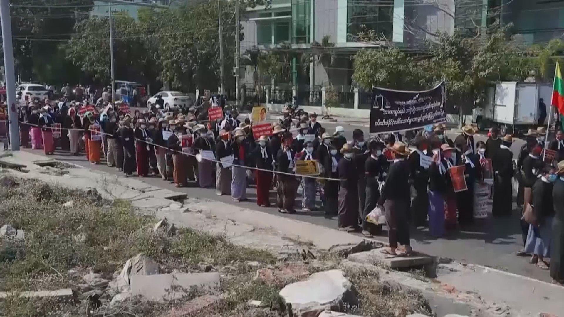 緬甸抗議軍事政變示威持續 軍方恢復須通報訪客過夜留宿