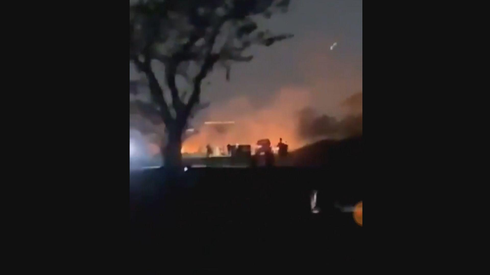 【緬甸局勢】曼德勒居民拍攝到軍方車輛行駛時疑有人開槍