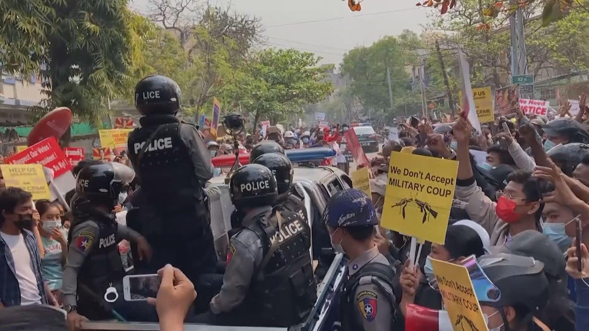 聯合國報告員指緬甸軍方轉移兵至多個城市