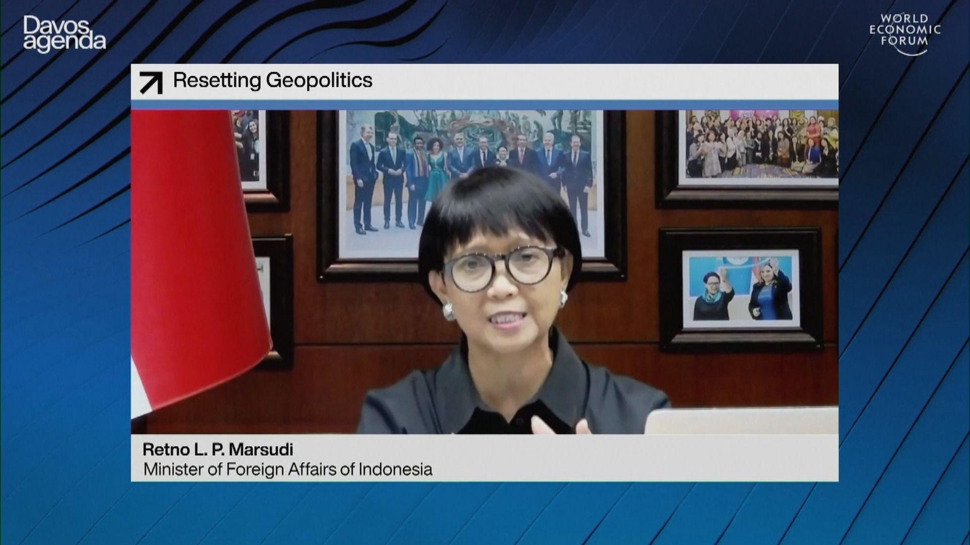 消息指印尼外長周四訪問緬甸試圖調停事件