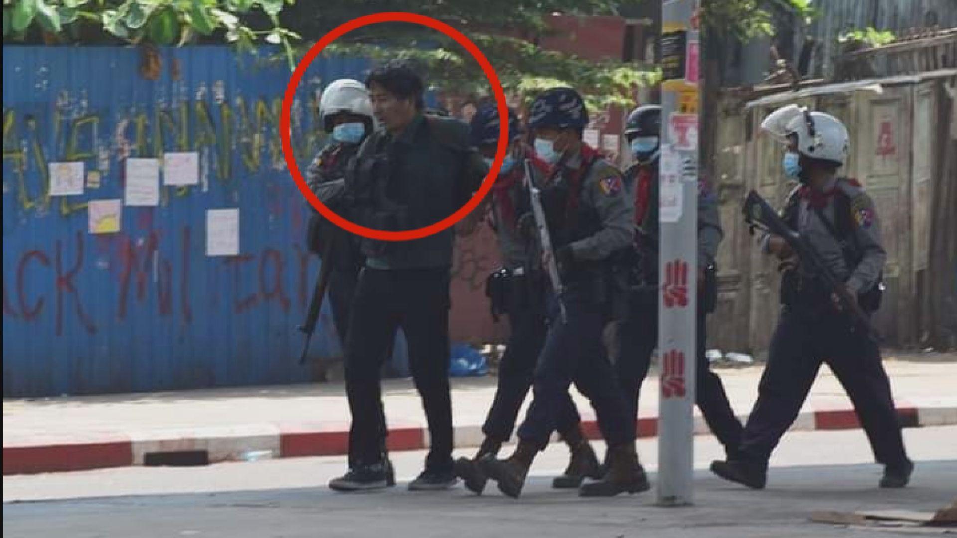 緬甸一名日本記者被捕後獲釋