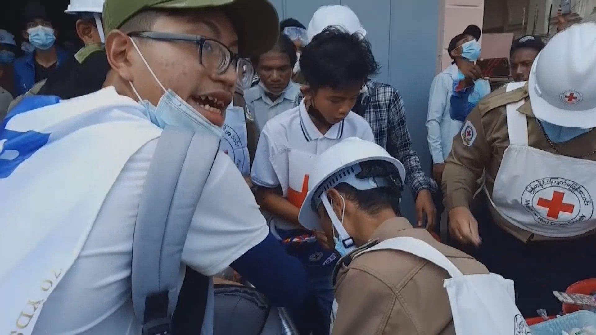 緬甸警方開槍鎮壓示威多人死亡