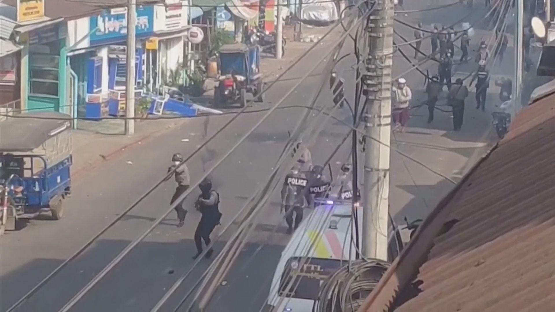 聯合國及美國譴責緬甸軍警暴力鎮壓示威