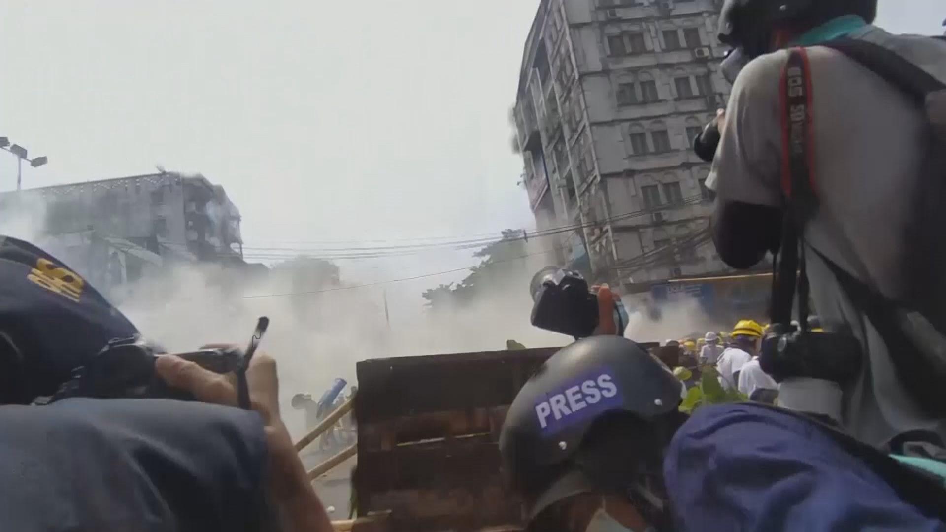 報道指緬甸警方拘捕最少六名記者