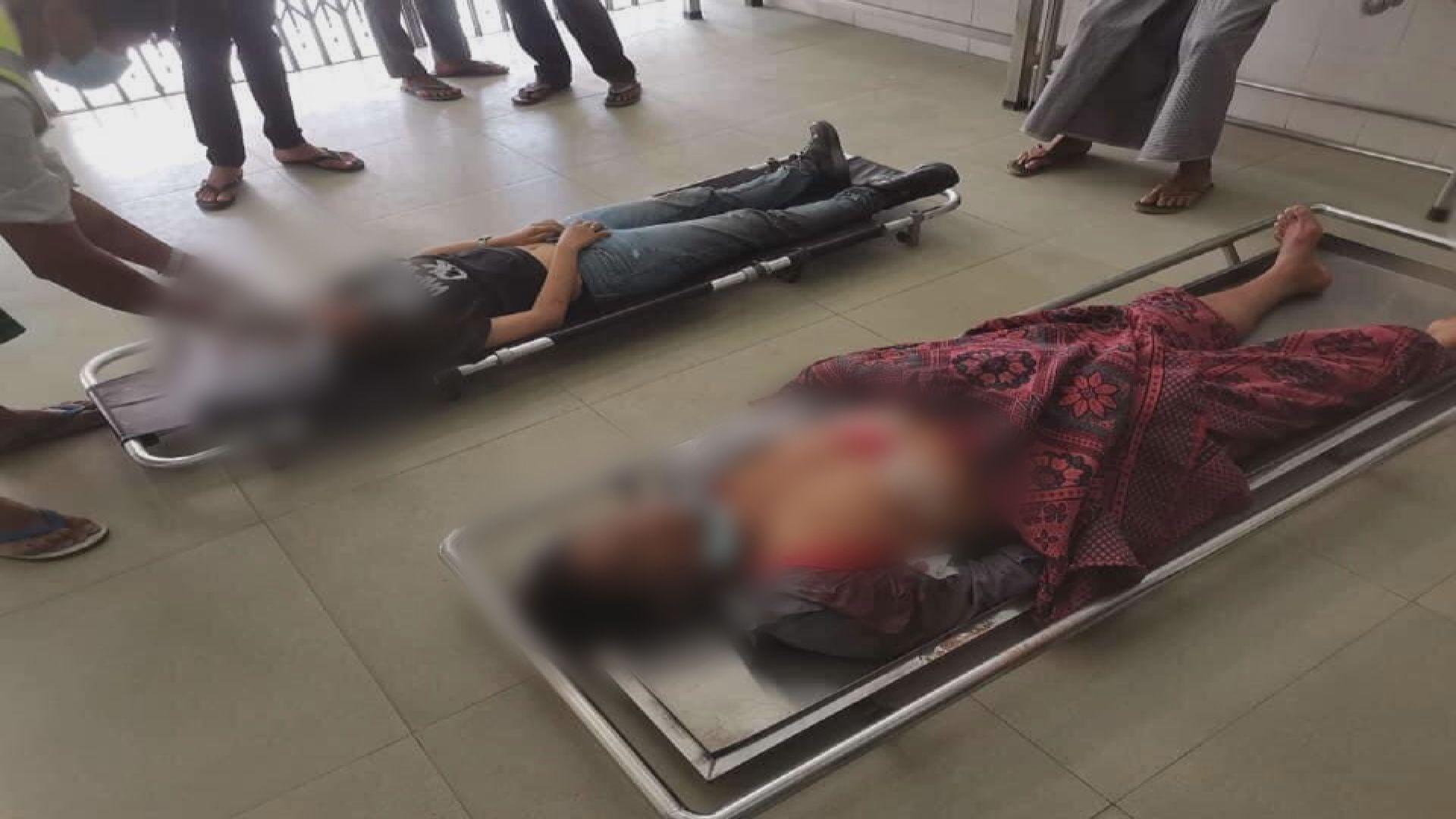 據報軍警再用實彈鎮壓示威 最少9人中槍亡