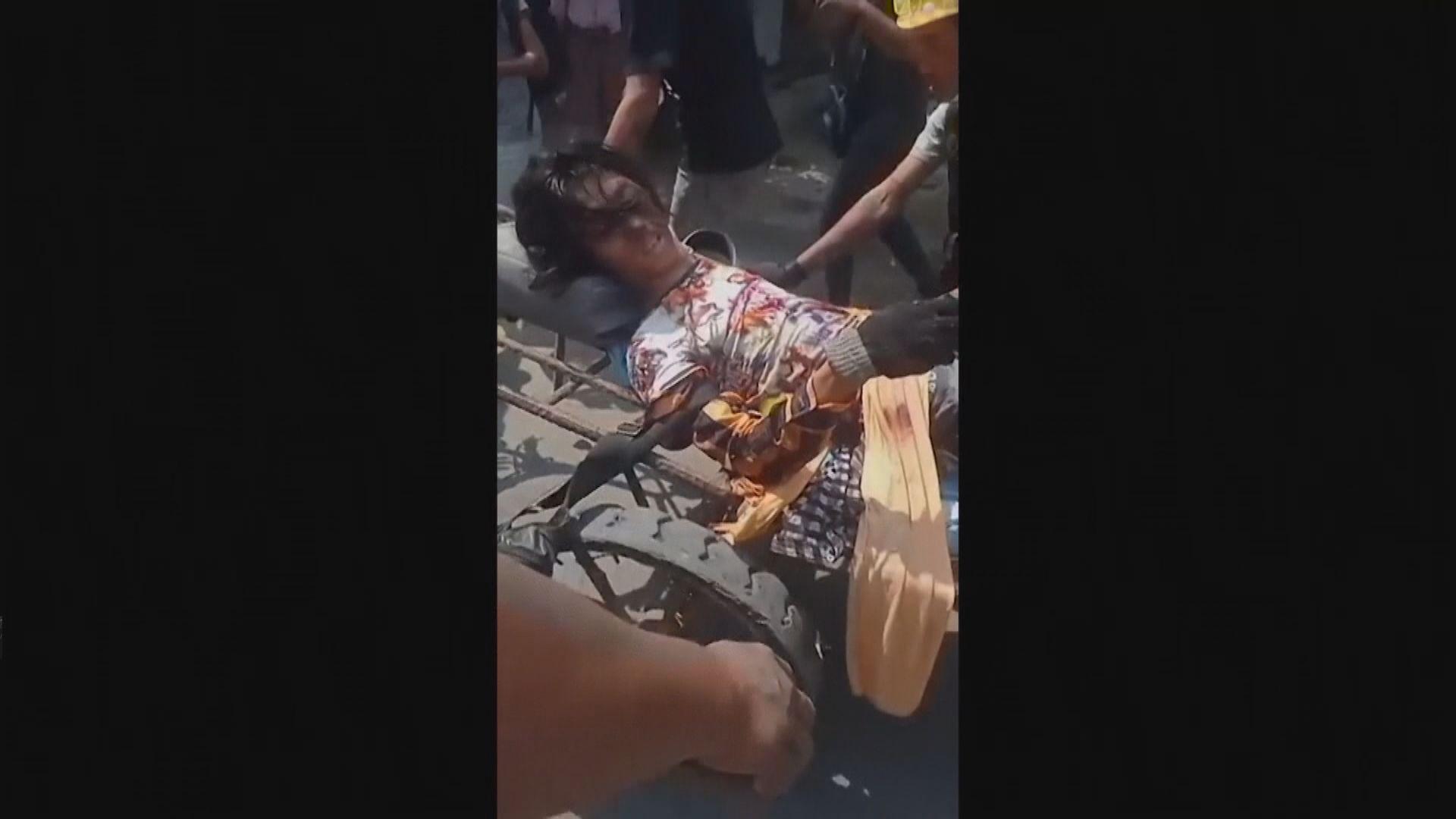 據報緬甸軍警再以實彈鎮壓反政變示威 至少38死