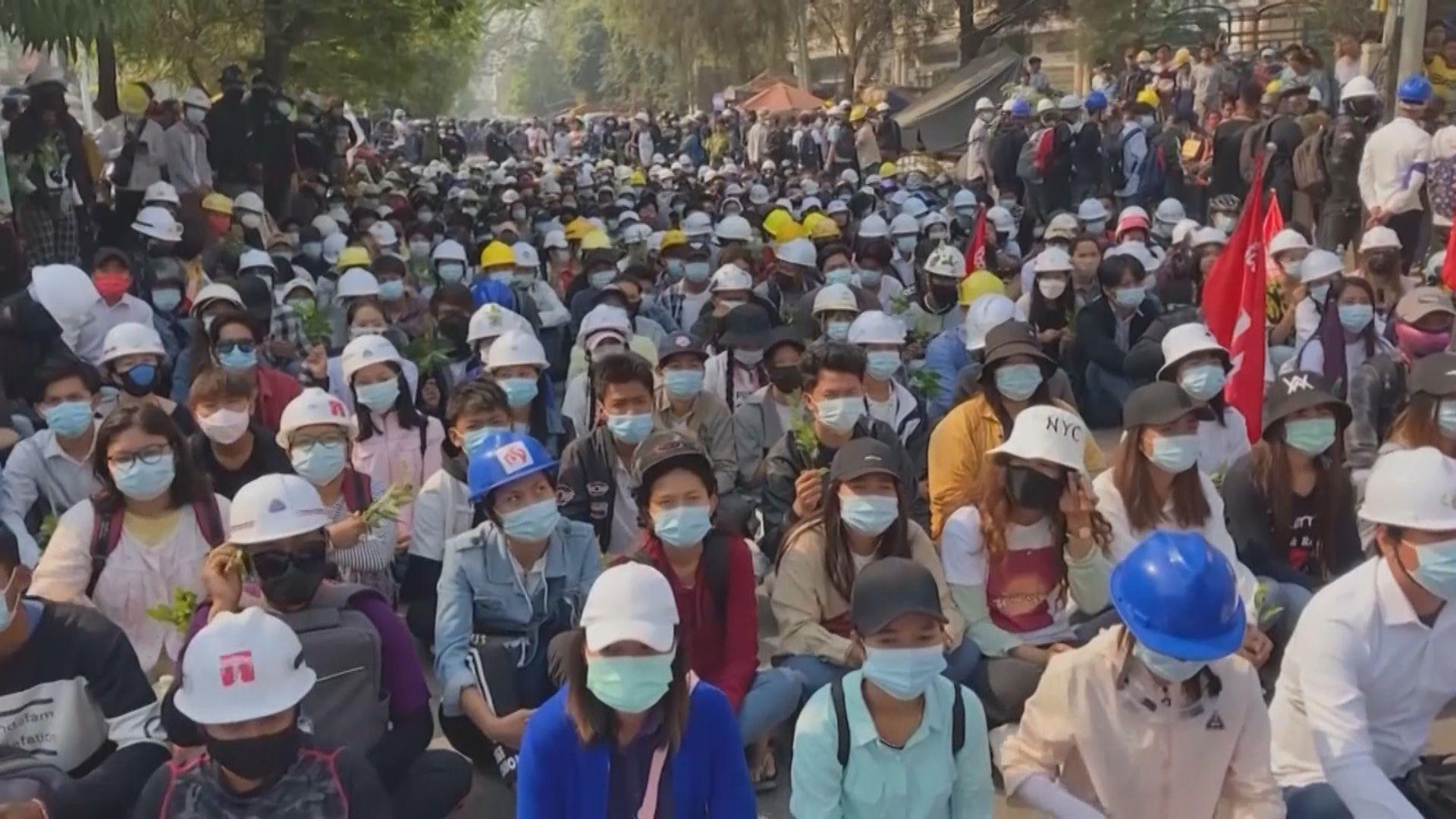 聯合國:由上月初以來緬甸已經有逾50人被殺