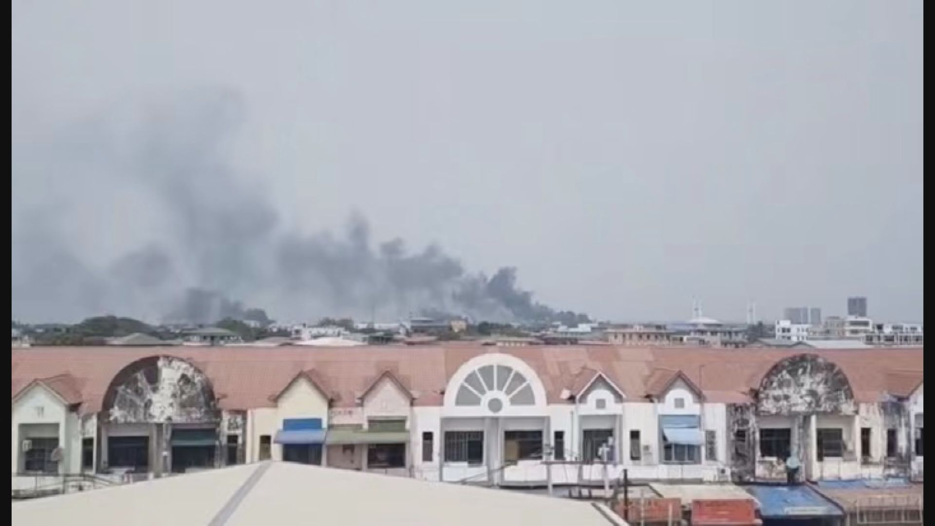 緬甸有兩間中資工廠遭人破壞縱火